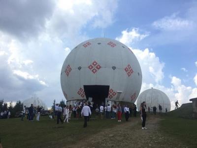 Дегустація наливок, здійснення мрії і фаєр-шоу: як пройшов цьогорічний фестиваль на горі Томнатик - фото
