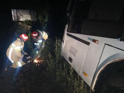 Зіткнувся з відбійником. Назвали причину ДТП за участю автобуса «Москва–Чернівці»
