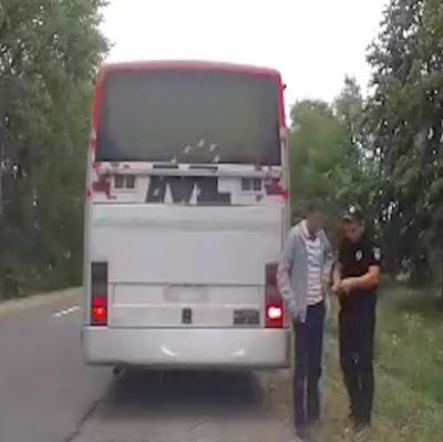 Поліція затримала п'яного водія маршрутки «Вашківці-Сокиряни»