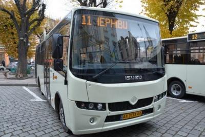 У Чернівцях міськрада сьогодні хоче дозволити закупівлю в лізинг нових автобусів