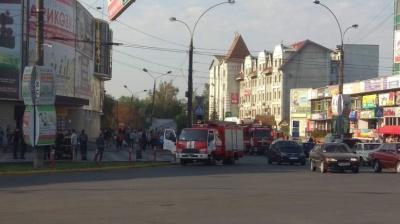 У Чернівцях рятувальники провели навчання у «Формаркеті» - відео