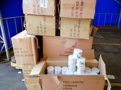 Цигарки замість туалетного паперу: фірма з Чернівців намагалась відправити у Ізраїль контрабандний товар - фото