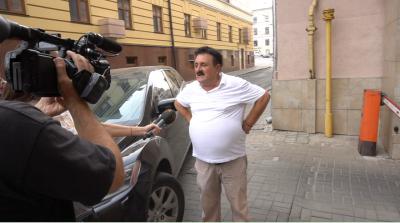 «Народний бургомістр Чернівців» повідомив про акт самоспалення, але цього не зробив - відео