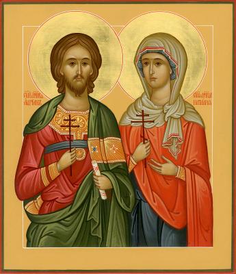 8 вересня за церковним календарем - мучеників Адріана і Наталії