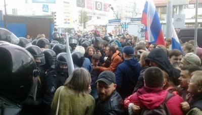 У Росії протестують проти підвищення пенсійного віку