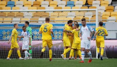 Ліга націй: Збірна України здолала Словаччину