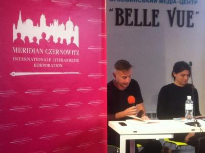 У Чернівцях письменник Педро Ленц презентував дві книги, написані швейцарським діалектом