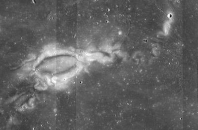 Вчені з'ясували природу візерунків на Місяці