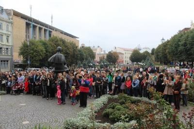 У Чернівцях відбудеться традиційне свято з нагоди 48-ї річниці першого виконання «Червоної рути»