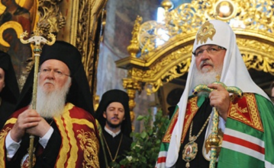 Патріарх РПЦ припиняє згадувати патріарха Варфоломія під час богослужіння