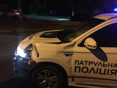 ДТП з патрульним авто на Гравітоні: у мережі оприлюднили відео з місця пригоди