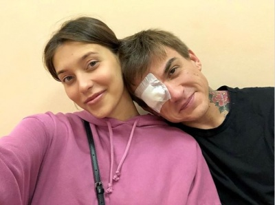 Влад Топалов травмував око, захищаючи вагітну Регіну Тодоренко