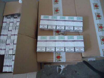 Буковинець намагався вивезти з України цигарки на 2 мільйони гривень - фото