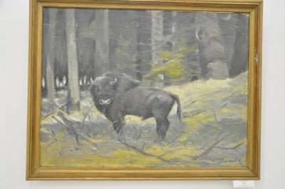 Ювелір, мисливець та художник: чернівчанин Ярослав Ільченко представив ювілейну виставку сотні картин