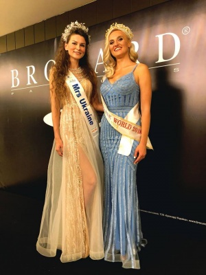 Дві красуні з Буковини змагались за титул «Mrs Ukraine World 2018» - фото