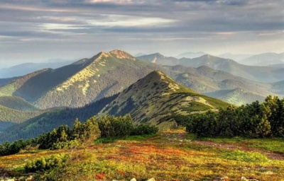 На Прикарпатті у горах травмувався чернівчанин: у чоловіка опіки