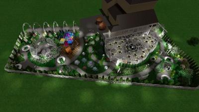 У райцентрі на Буковині планують розробити новий сквер - фото