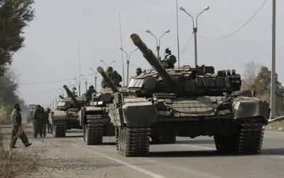 Бойовики тримають на Луганщині десятки одиниць важкого озброєння - СЦКК