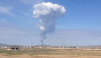 У столиці Азербайджану сталося виверження грязьового вулкана (відео)