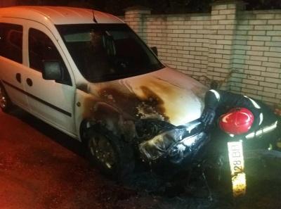 У Чернівцях невідомі підпалили автомобіль начальника інспекції благоустрою