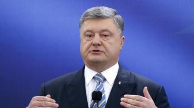 Порошенко прокоментував російський варіант миротворчої місії на Донбасі