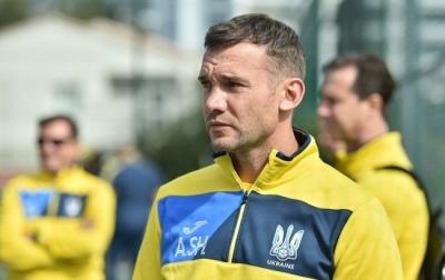 Шевченко визначився зі складом збірної на матчі з Італією та Чехією