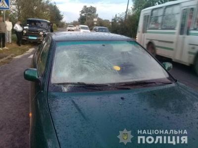 Водій був тверезий: поліція повідомила деталі ДТП із неповнолітньою на Галицькому шляху