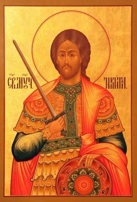 28 вересня за церковним календарем -  великомученика Микити