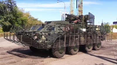"""Військові показали новітній БТР-4Е """"Буцефал"""""""