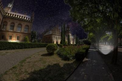 На освітлення ЧНУ хочуть витратити понад мільйон гривень