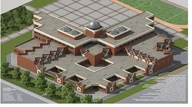 Прозорі куполи та скляні стіни: архітектори розробили проект нової сучасної школи в Чернівцях