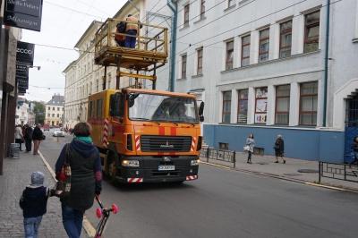 У центрі Чернівців після поломки відновили рух тролейбусів