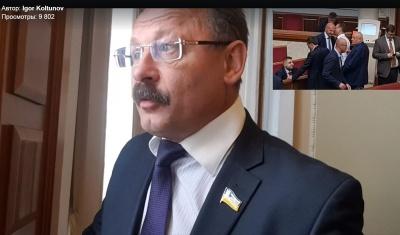 Нардеп Барна обматюкав журналіста після запитання про кнопкодавство (відео)