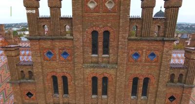 Ukrainer створив відеоролик про головну архітектурну пам'ятку Чернівців