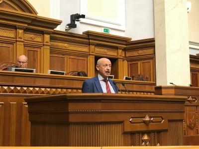 Виступ відомого вчителя з Чернівців змусив парламент аплодувати стоячи