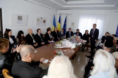 У Чернівцях представили нового генконсула Румунії