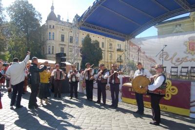 Гуцули у Чернівцях організували весілля