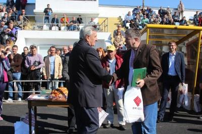 До 60-річчя футбольного клубу «Буковина» відзначено ветеранів Буковинського футболу
