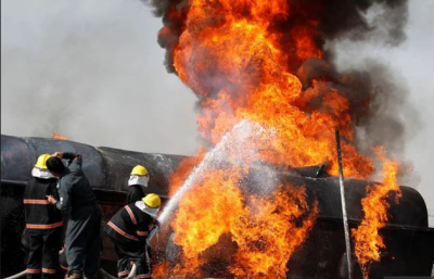 В Конго після аварії вибухнула цистерна з пальним: є десятки жертв