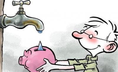 Анекдот дня: про відключення води