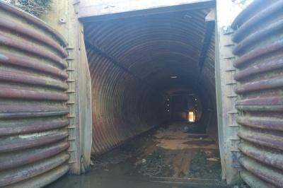 На Буковині невідомі розпочали демонтаж колишньої секретної бази «Памір» - фото