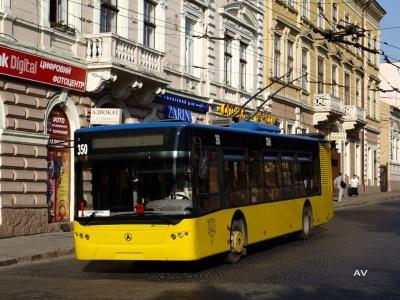 Через ремонт Соборної площі тролейбуси та маршрутки змінили рух