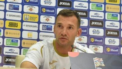 Шевченко: Збірна не змінюватиме модель гри