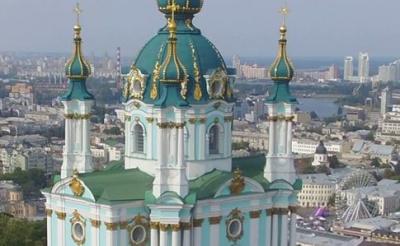 Порошенко пропонує передати Вселенському патріарху Андріївську церкву у Києві