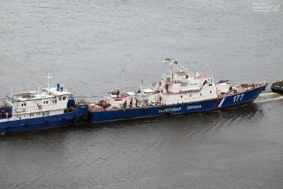 Росія перекидає до Азовського моря два військові кораблі
