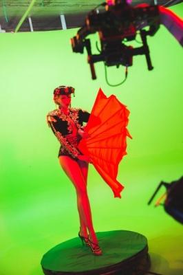 """Оля Полякова виконає """"смертельний"""" трюк на сцені свого шоу"""
