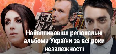 Альбоми двох виконавців з Чернівців назвали найвпливовішими в Україні