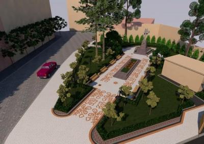 Як виглядатиме сквер біля пам'ятника героям Буковинського куреня - фото