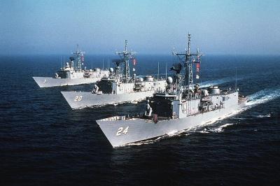 США хочуть передати українській армії фрегати типу Oliver Hazard Perry