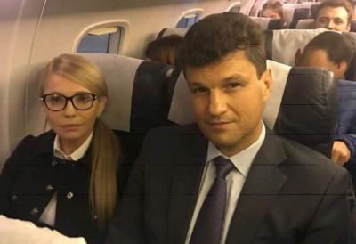 Тимошенко прилітала до Чернівців на день народження Мунтяна